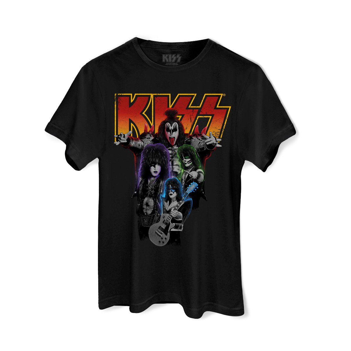 Camiseta Masculina Kiss Kissology Basic  - bandUP Store Marketplace