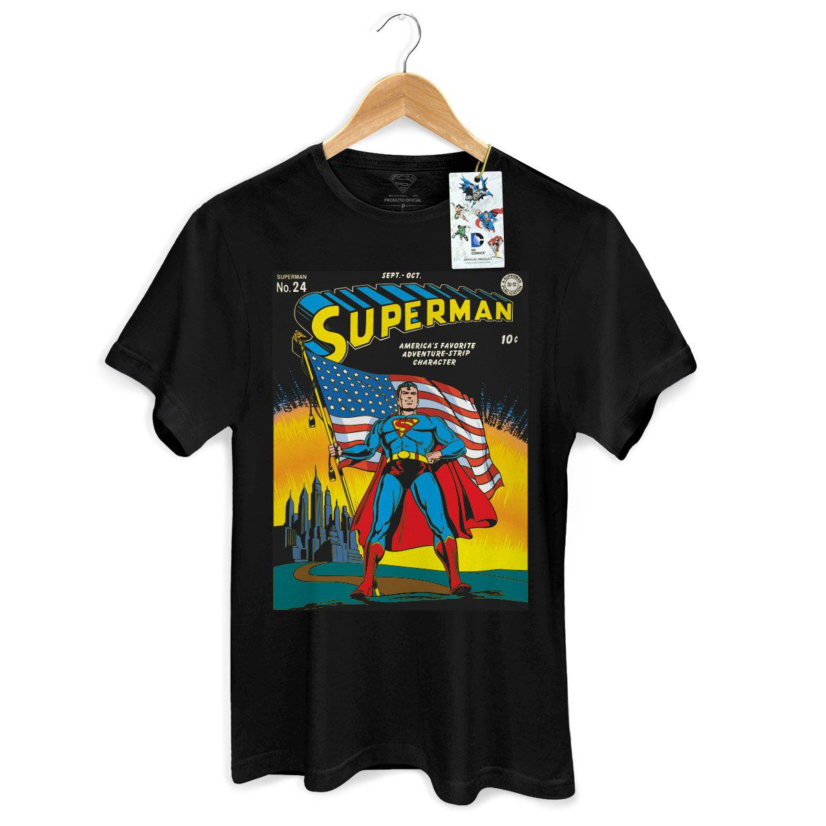 Camiseta Masculina Superman HQ Nº24  - bandUP Store Marketplace