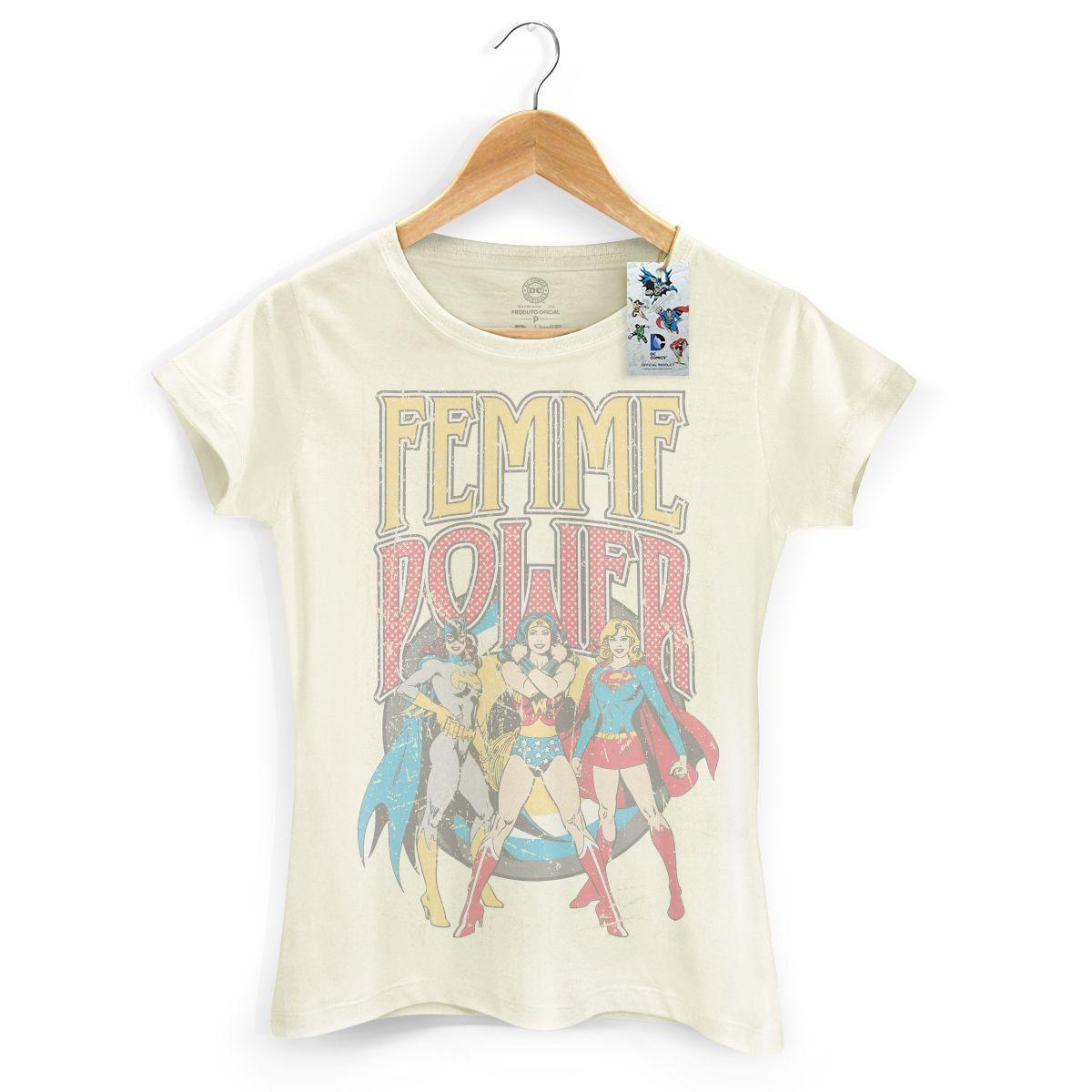 Kit com 3 Camisetas Femininas Supercool  - bandUP Store Marketplace