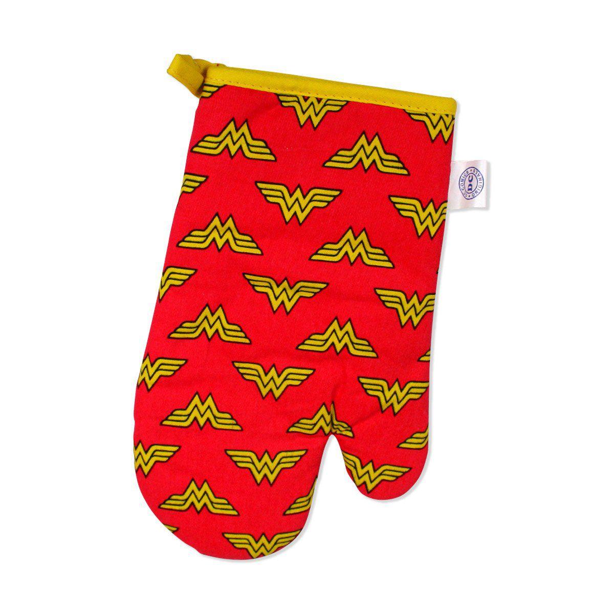 Luva de Forno Wonder Woman Logo  - bandUP Store Marketplace