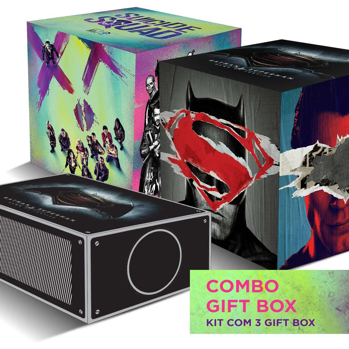 KIT 3 GIFT BOX MERCADO LIVRE  - bandUP Store Marketplace