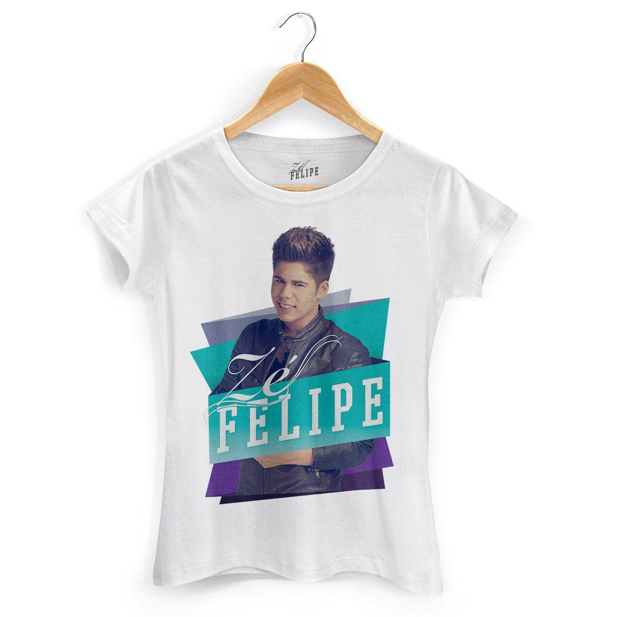 Camiseta Feminina Zé Felipe Colors  - bandUP Store Marketplace