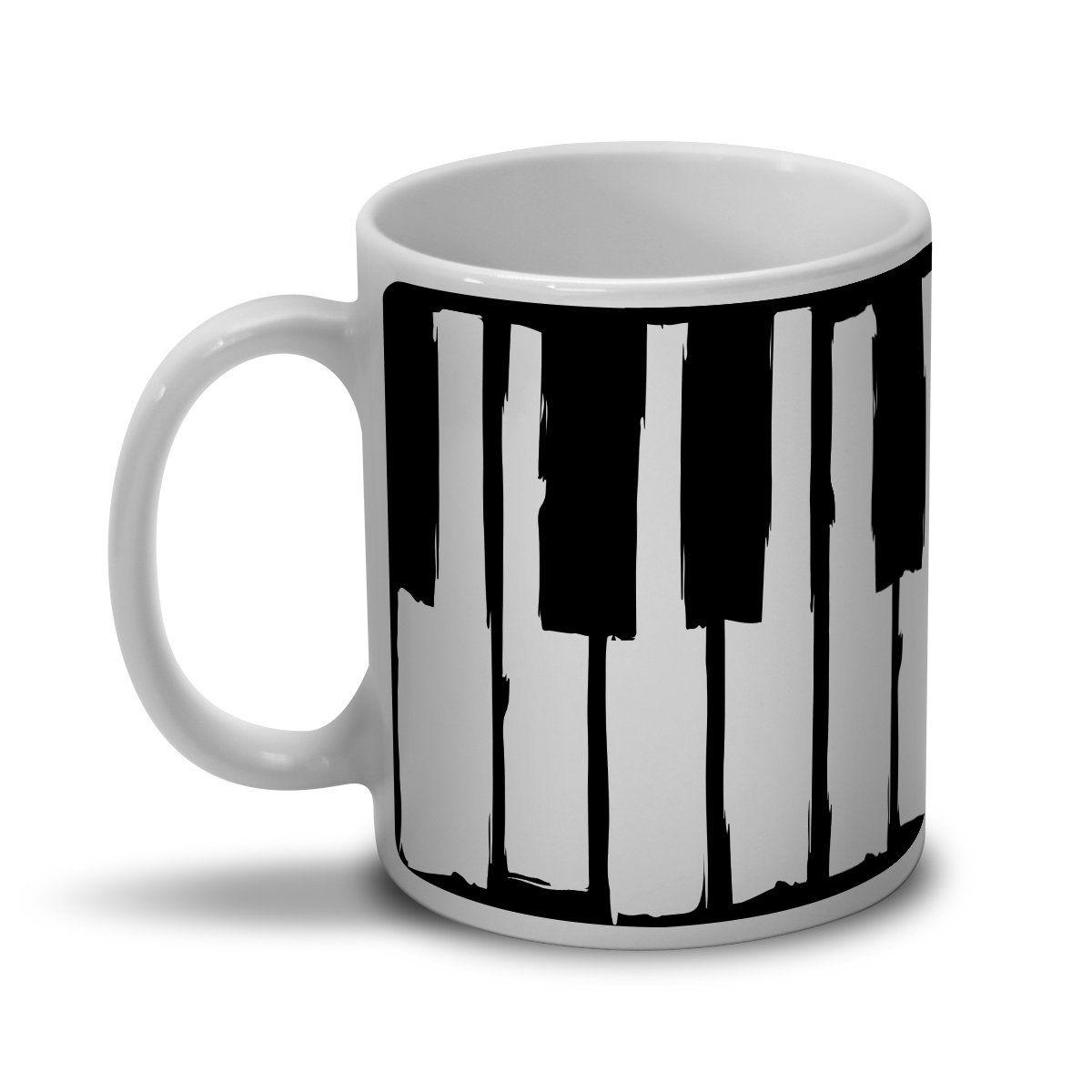 Caneca Dudu Borges Musical Keyboard  - bandUP Store Marketplace