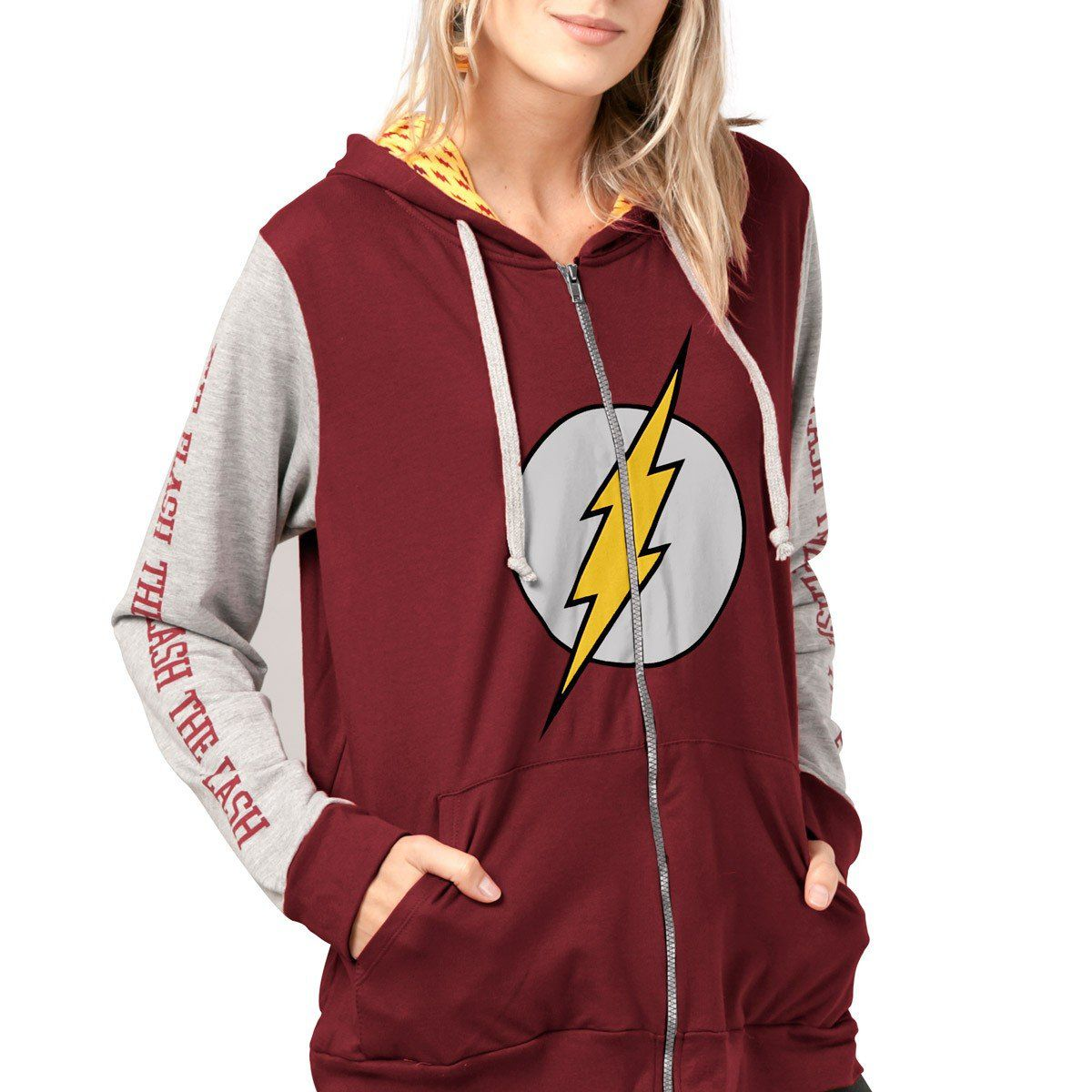 Jaqueta de moletom The Flash Logo  - bandUP Store Marketplace