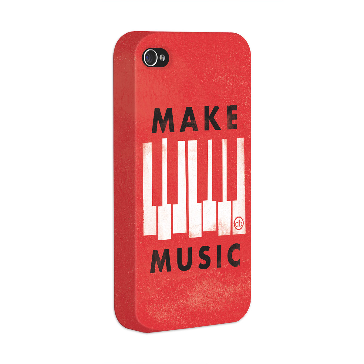 Capa para iPhone 4/4S Dudu Borges Make Music  - bandUP Store Marketplace