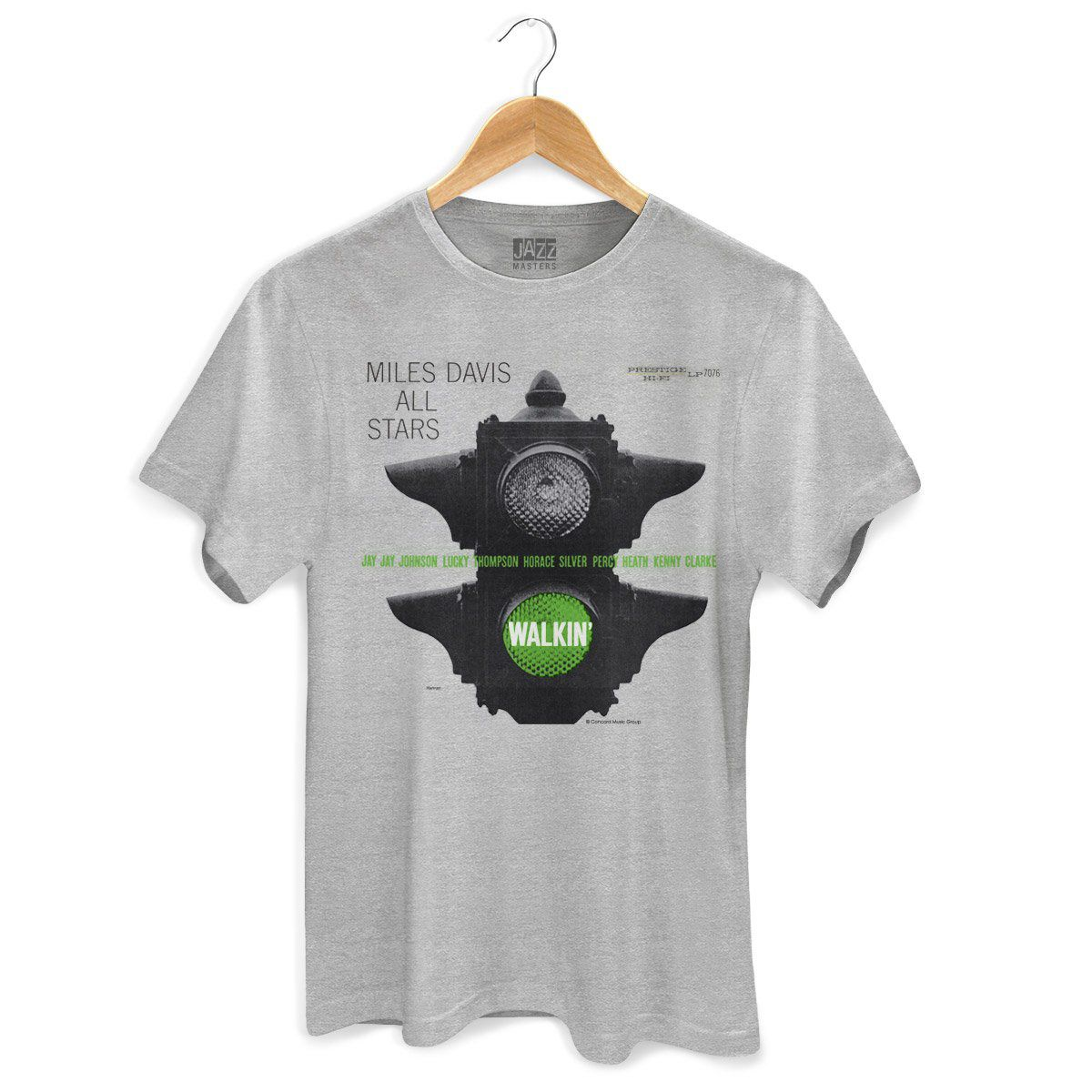 Camiseta Masculina Miles Davis Walkin´  - bandUP Store Marketplace