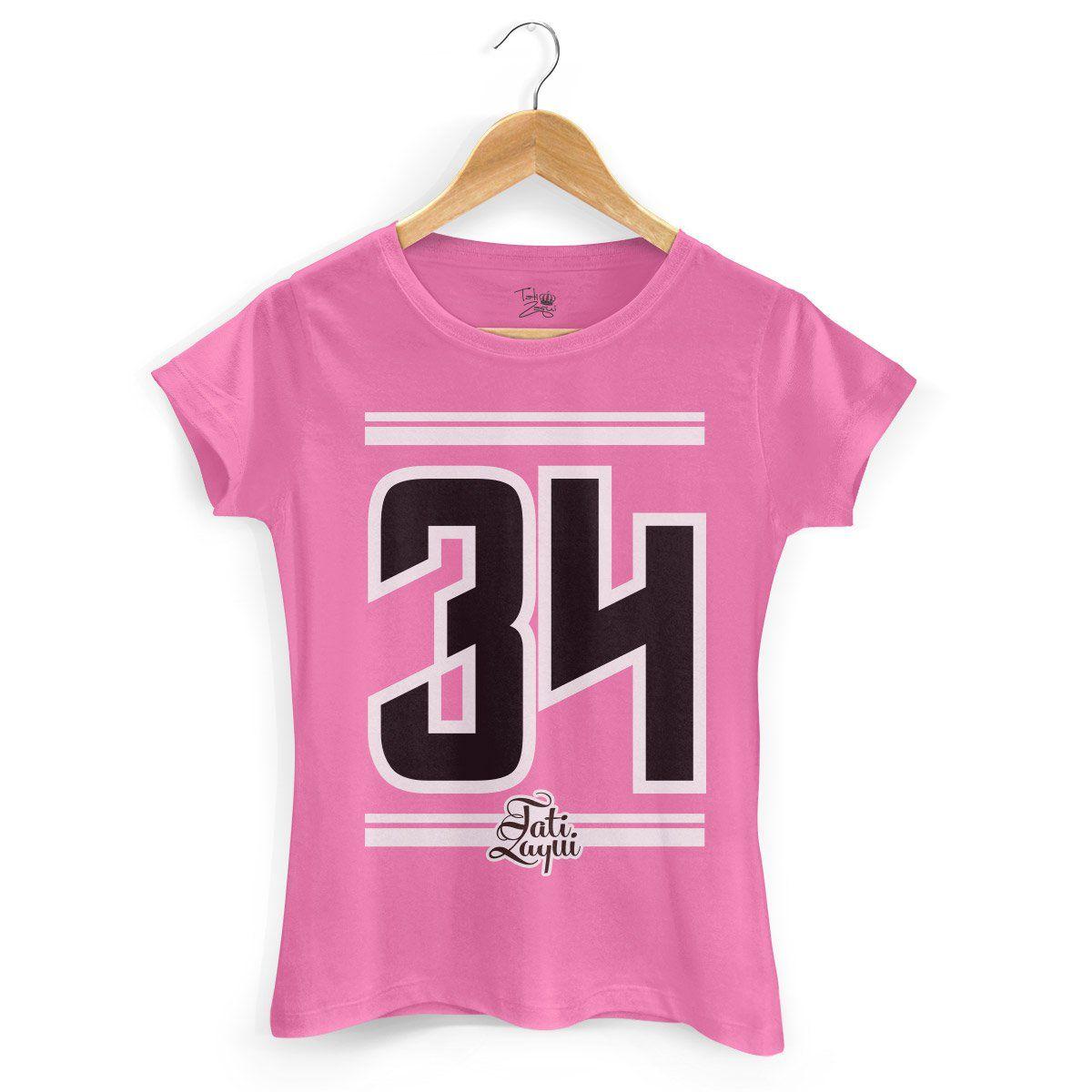 Camiseta Feminina MC Tati Zaqui 34  - bandUP Store Marketplace