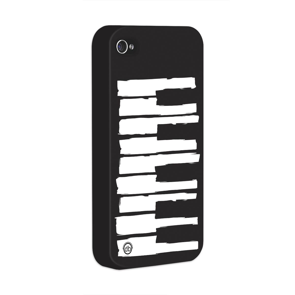 Capa para iPhone 4/4S Dudu Borges Musical Keyboard  - bandUP Store Marketplace