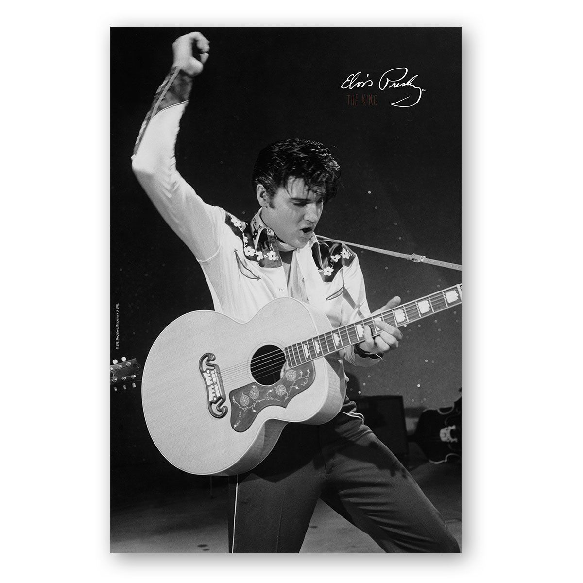 Poster Elvis Dancing  - bandUP Store Marketplace
