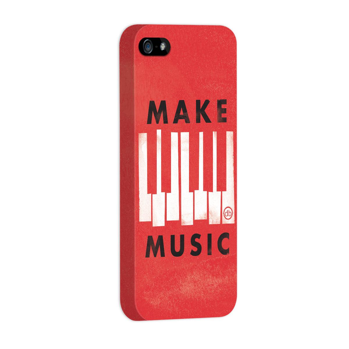 Capa para iPhone 5/5S Dudu Borges Make Music  - bandUP Store Marketplace