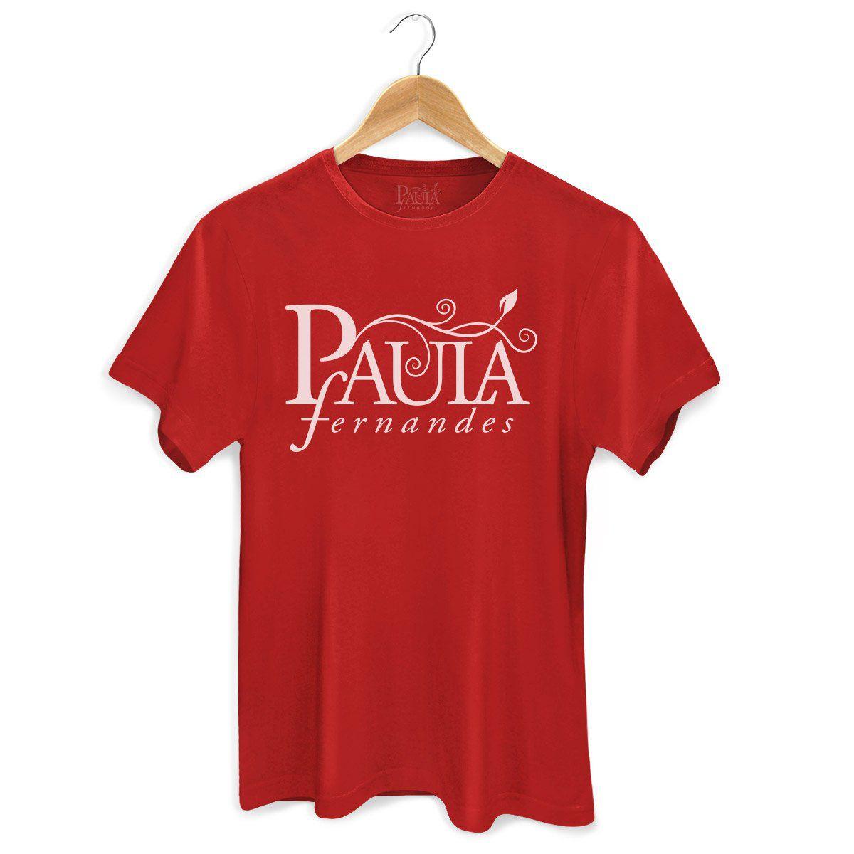 Camiseta Masculina Paula Fernandes Logo  - bandUP Store Marketplace
