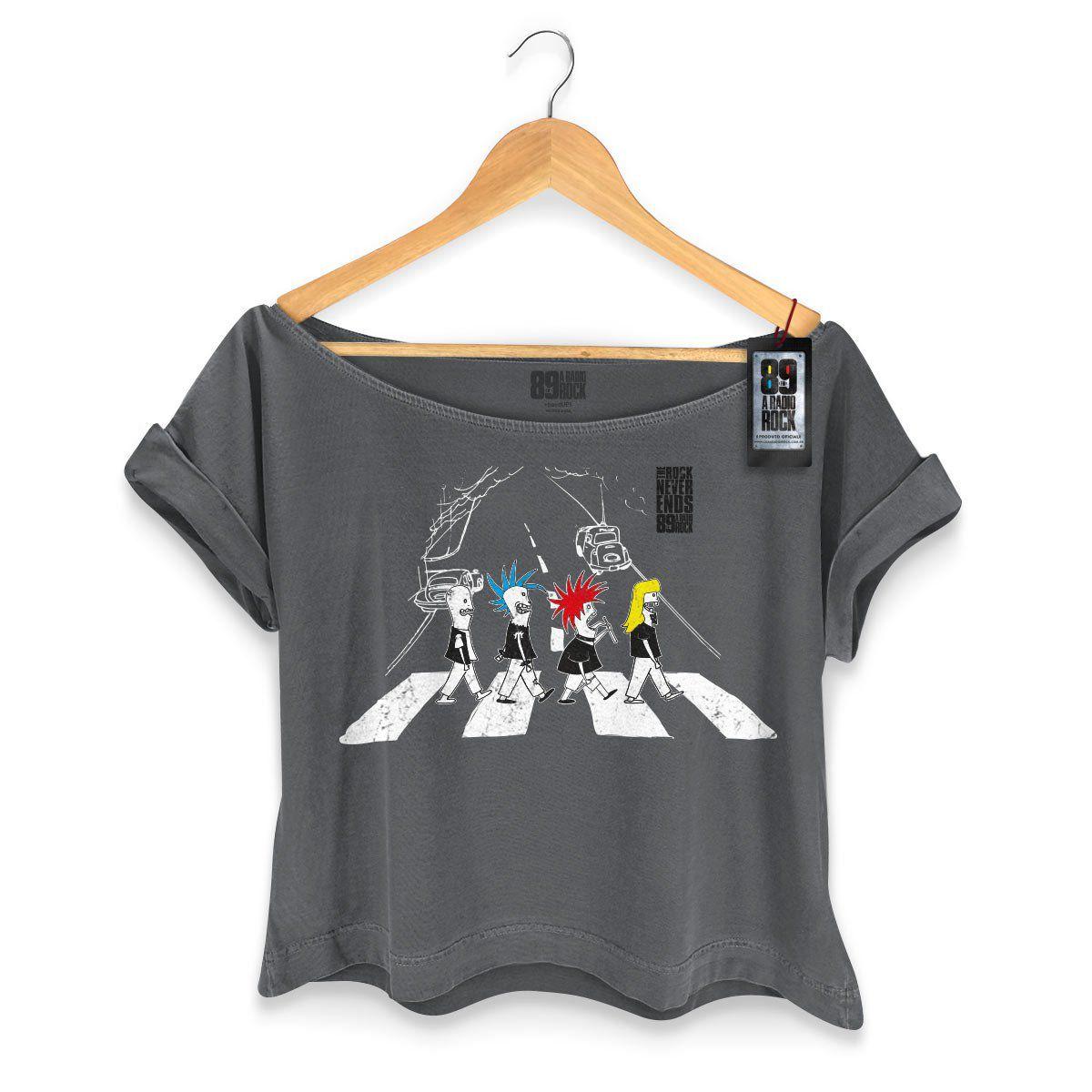 T-shirt Premium Feminina 89FM The Beatles Never Ends  - bandUP Store Marketplace