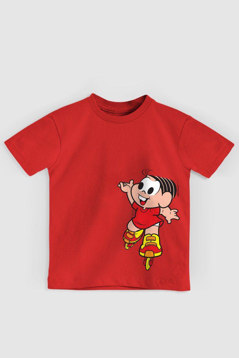 Camiseta Infantil Turma Da Mônica Roller  - bandUP Store Marketplace