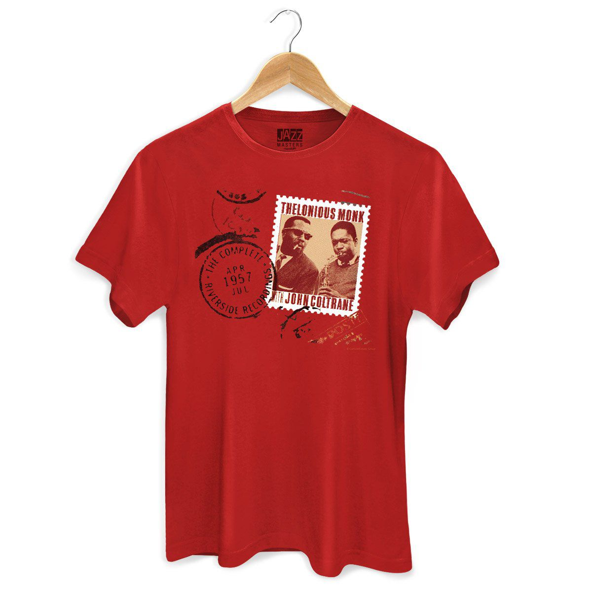 Camiseta Masculina Thelonious Monk With John Coltrane  - bandUP Store Marketplace