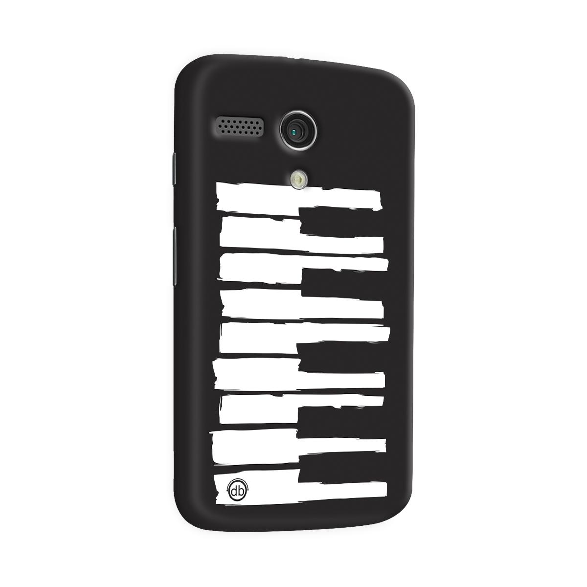 Capa para Motorola Moto G 1 Dudu Borges Musical Keyboard  - bandUP Store Marketplace