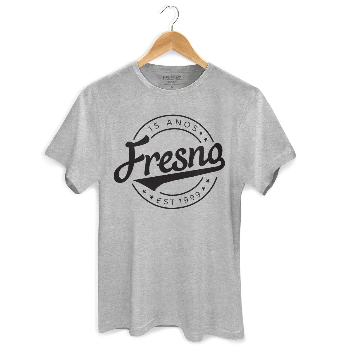 Camiseta Masculina Fresno 15 Anos Est 1999  - bandUP Store Marketplace