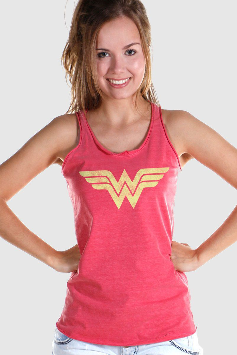 Regata Premium Feminina Wonder Woman  - bandUP Store Marketplace