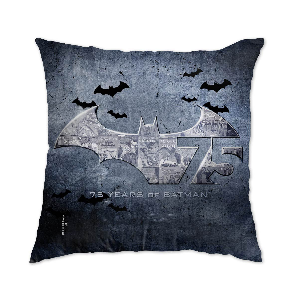 Almofada Batman 75 Anos Logo  - bandUP Store Marketplace