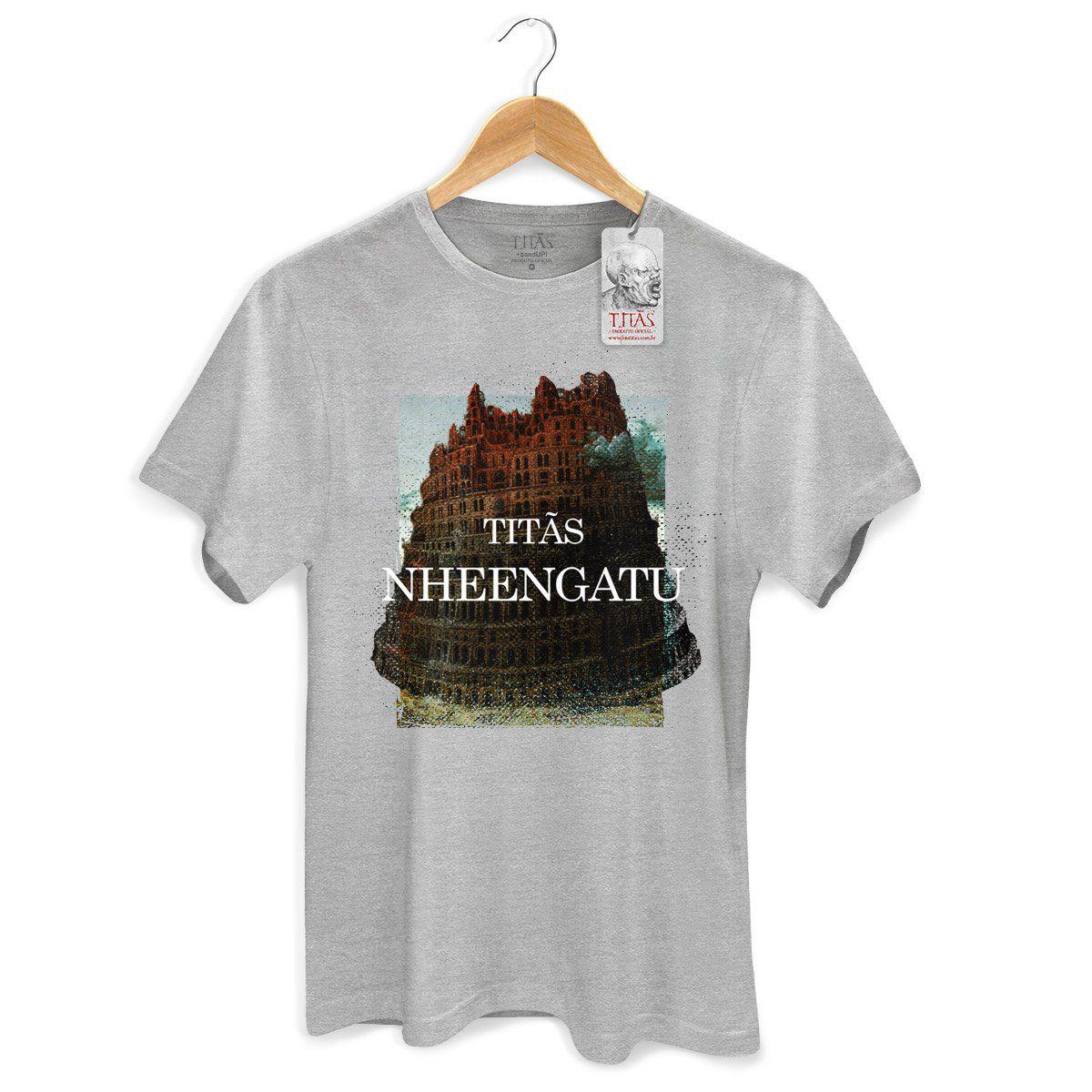 Camiseta Masculina Titãs Nheengatu Capa  - bandUP Store Marketplace