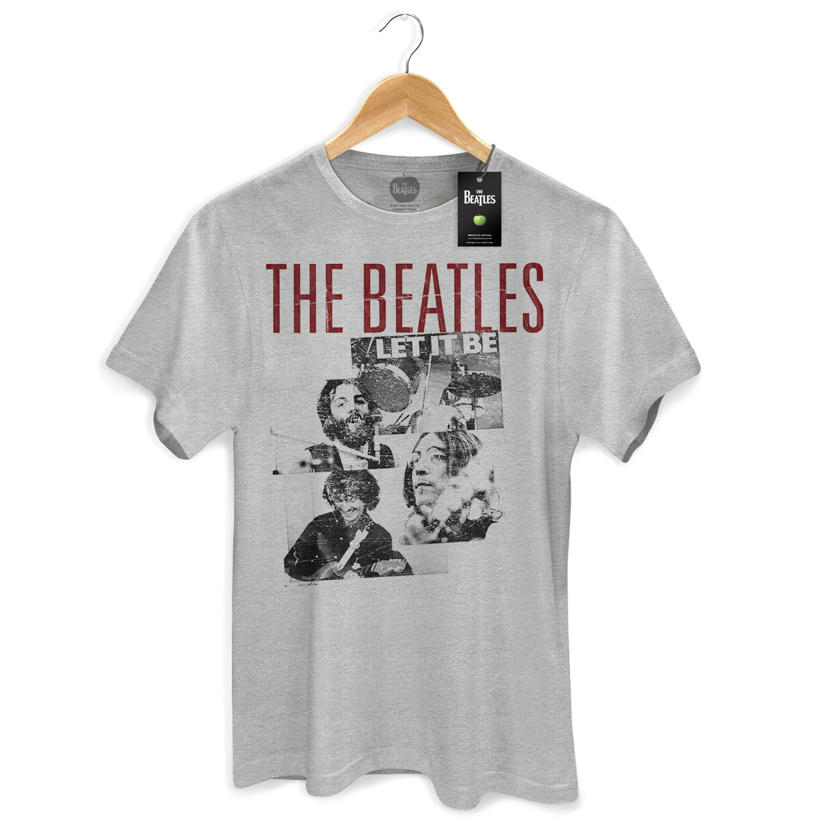 Camiseta Unissex The Beatles Let It Be Basic  - bandUP Store Marketplace