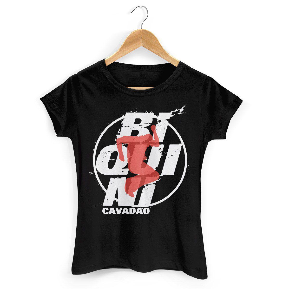 Camiseta Feminina Biquini Cavadão Logo Ao Vivo  - bandUP Store Marketplace