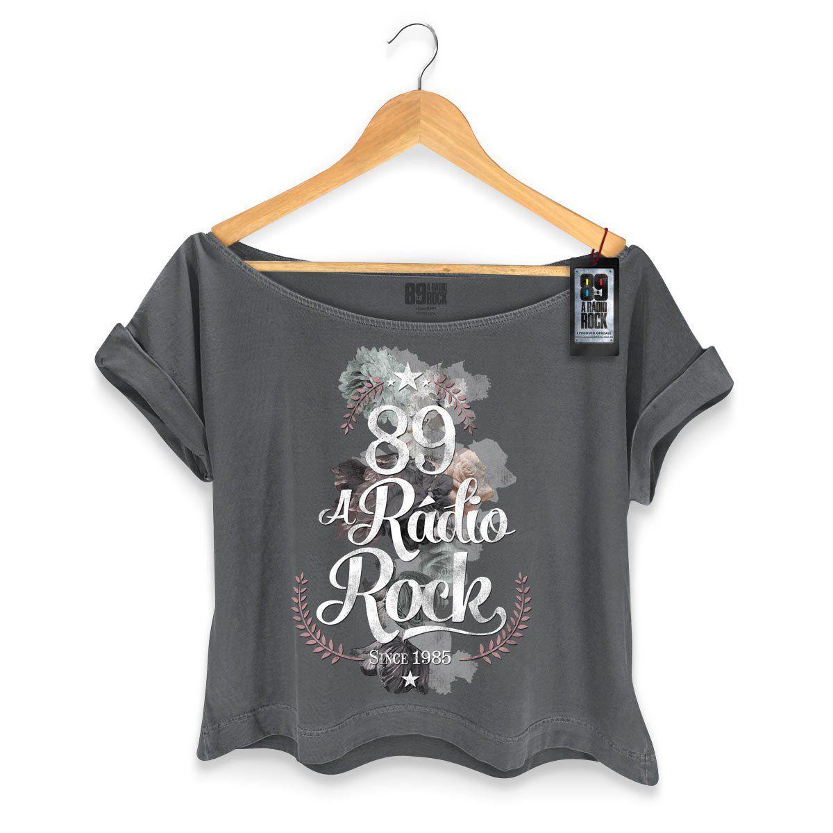 T-shirt Premium Feminina 89FM Since 1985  - bandUP Store Marketplace