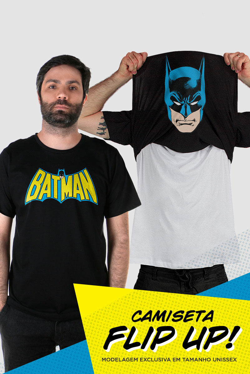 Camiseta Flip Up Batman  - bandUP Store Marketplace