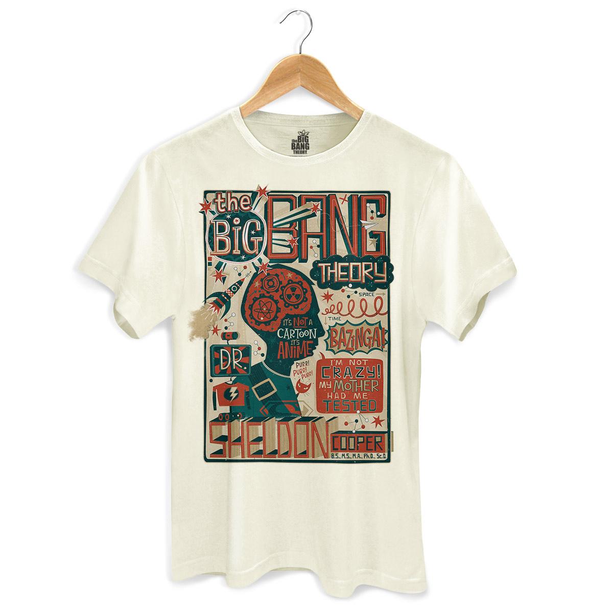 Camiseta Masculina The Big Bang Theory A Teoria de Sheldon  - bandUP Store Marketplace