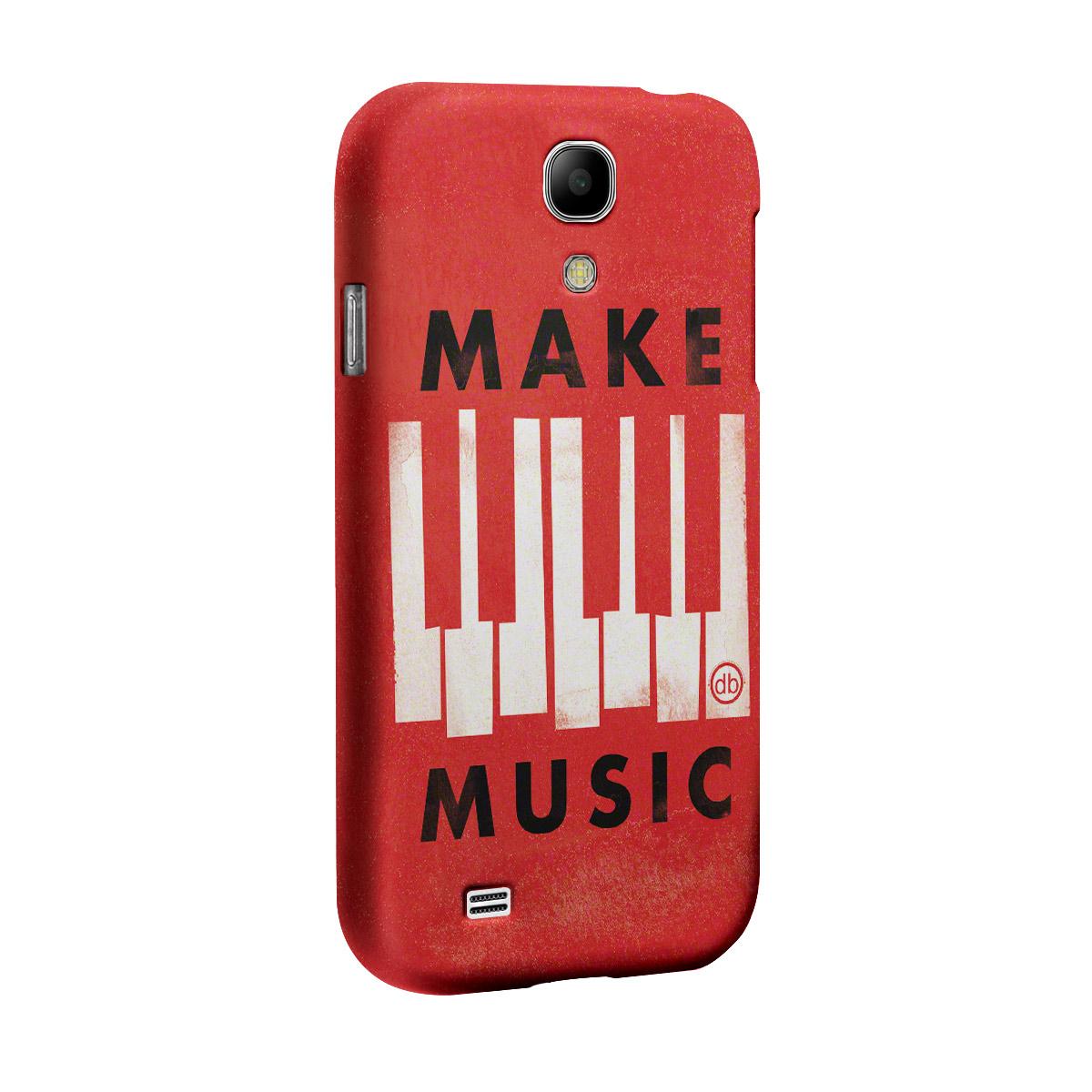 Capa para Samsung Galaxy S4 Dudu Borges Make Music  - bandUP Store Marketplace