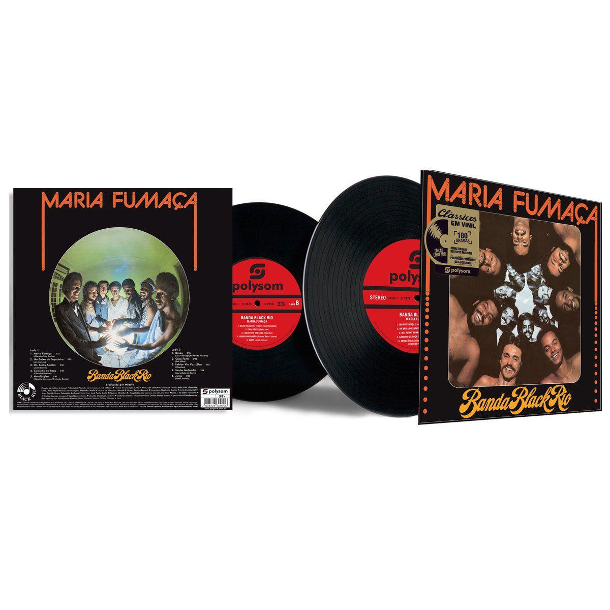 LP Banda Black Rio Maria Fumaça  - bandUP Store Marketplace