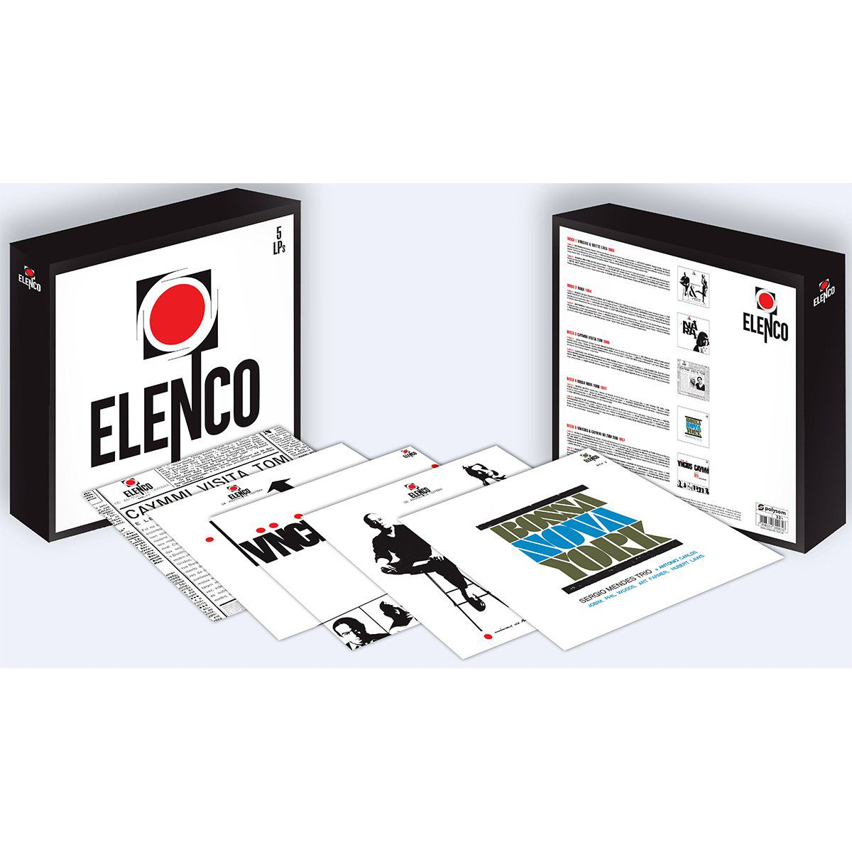 LP Box Deluxe Elenco  - bandUP Store Marketplace