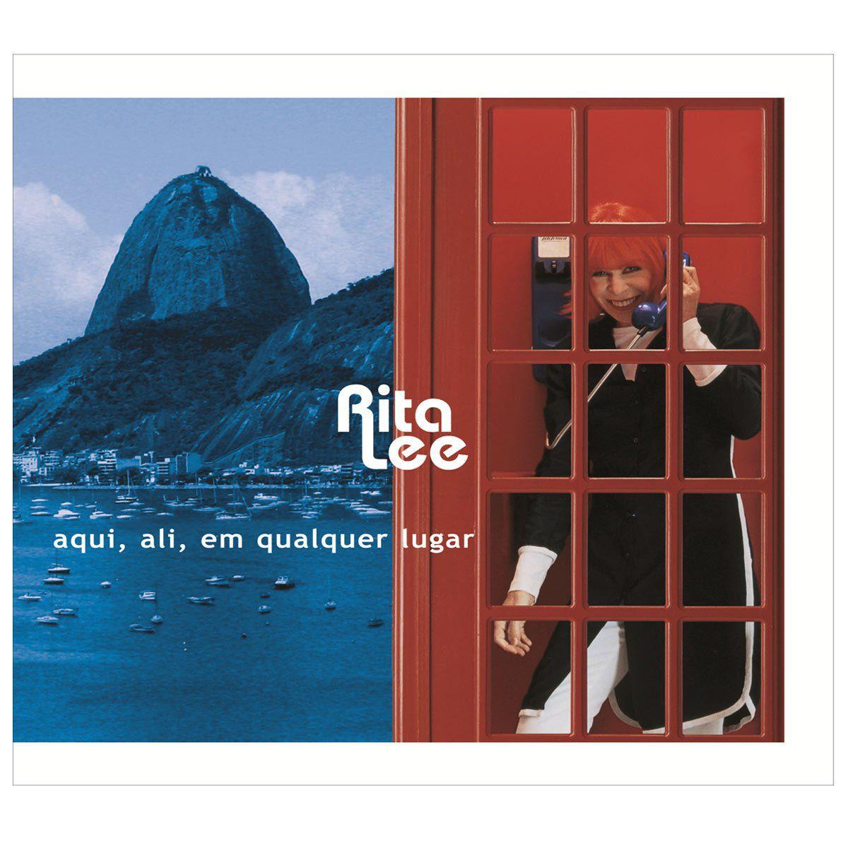 LP Rita Lee Aqui, Ali, Em Qualquer Lugar  - bandUP Store Marketplace