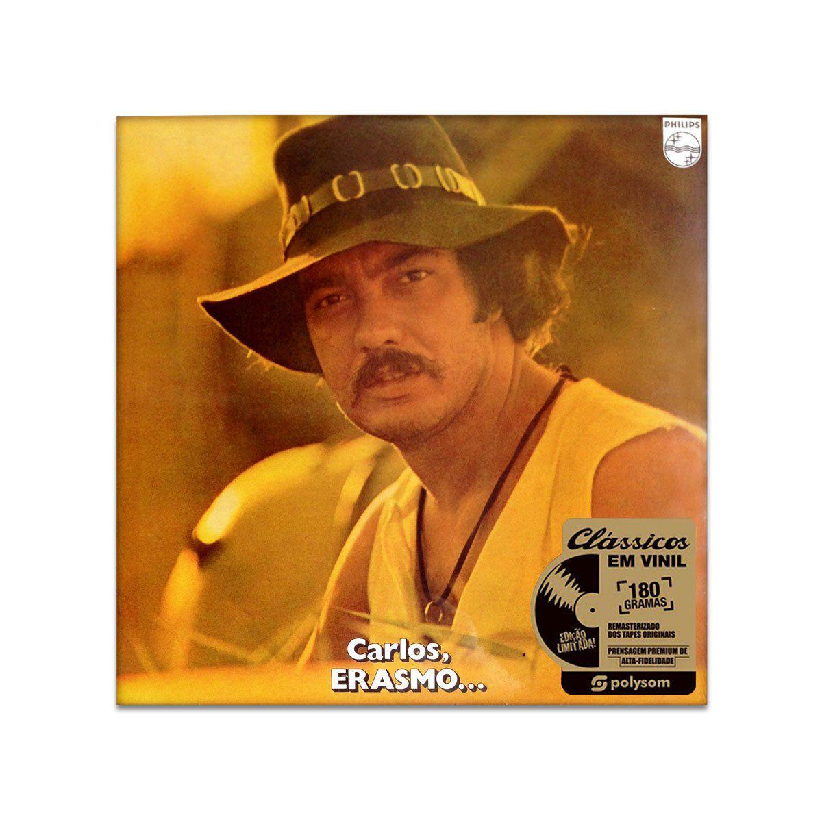LP Erasmo Carlos - Carlos, Erasmo  - bandUP Store Marketplace