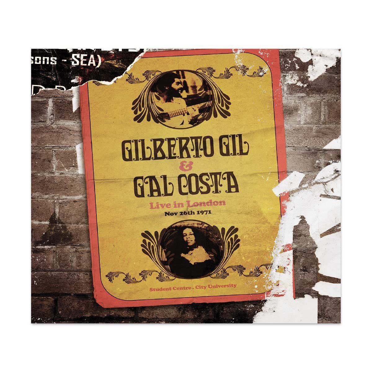 LP Triplo Gilberto Gil & Gal Costa Live In London´71  - bandUP Store Marketplace