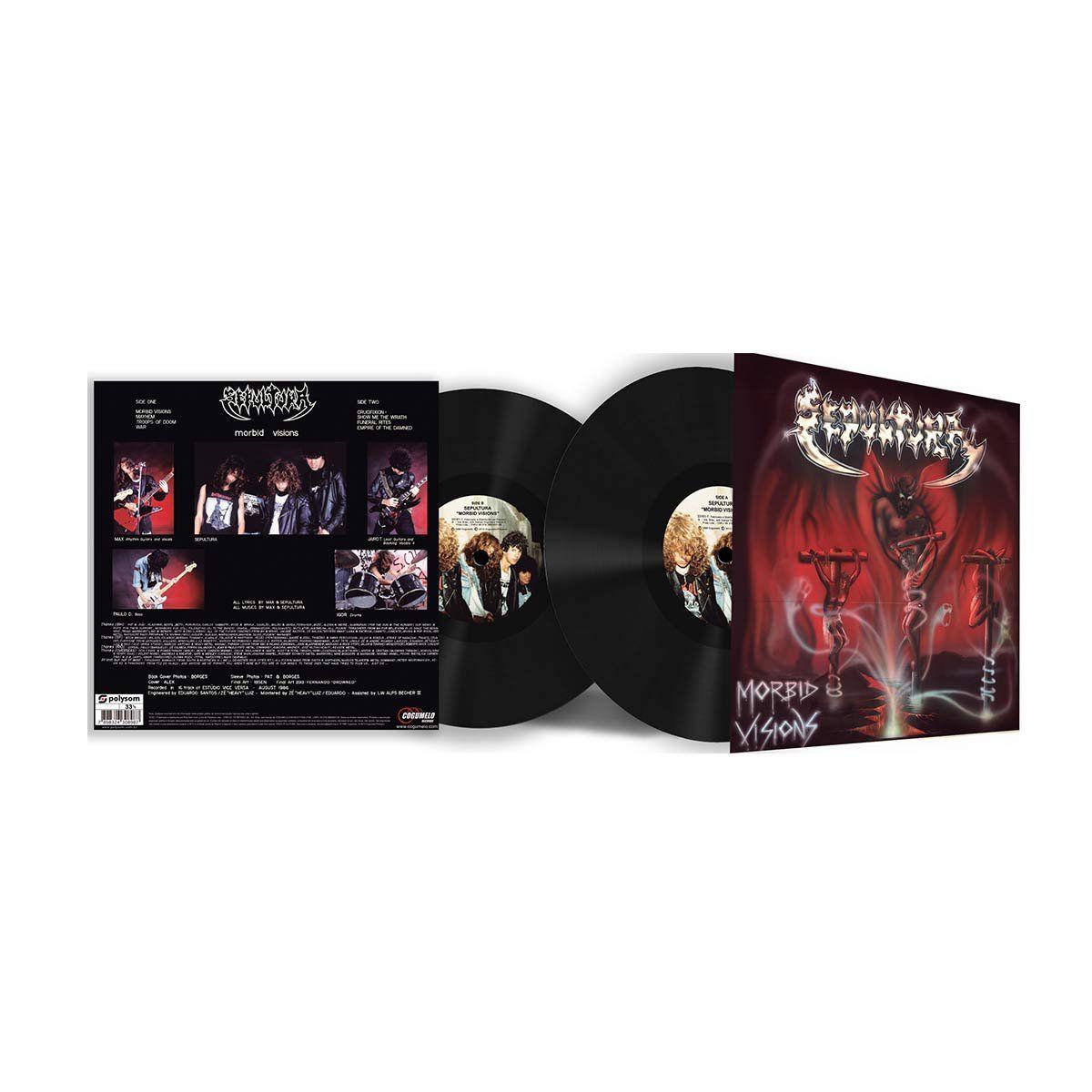 LP Sepultura Morbid Visions  - bandUP Store Marketplace