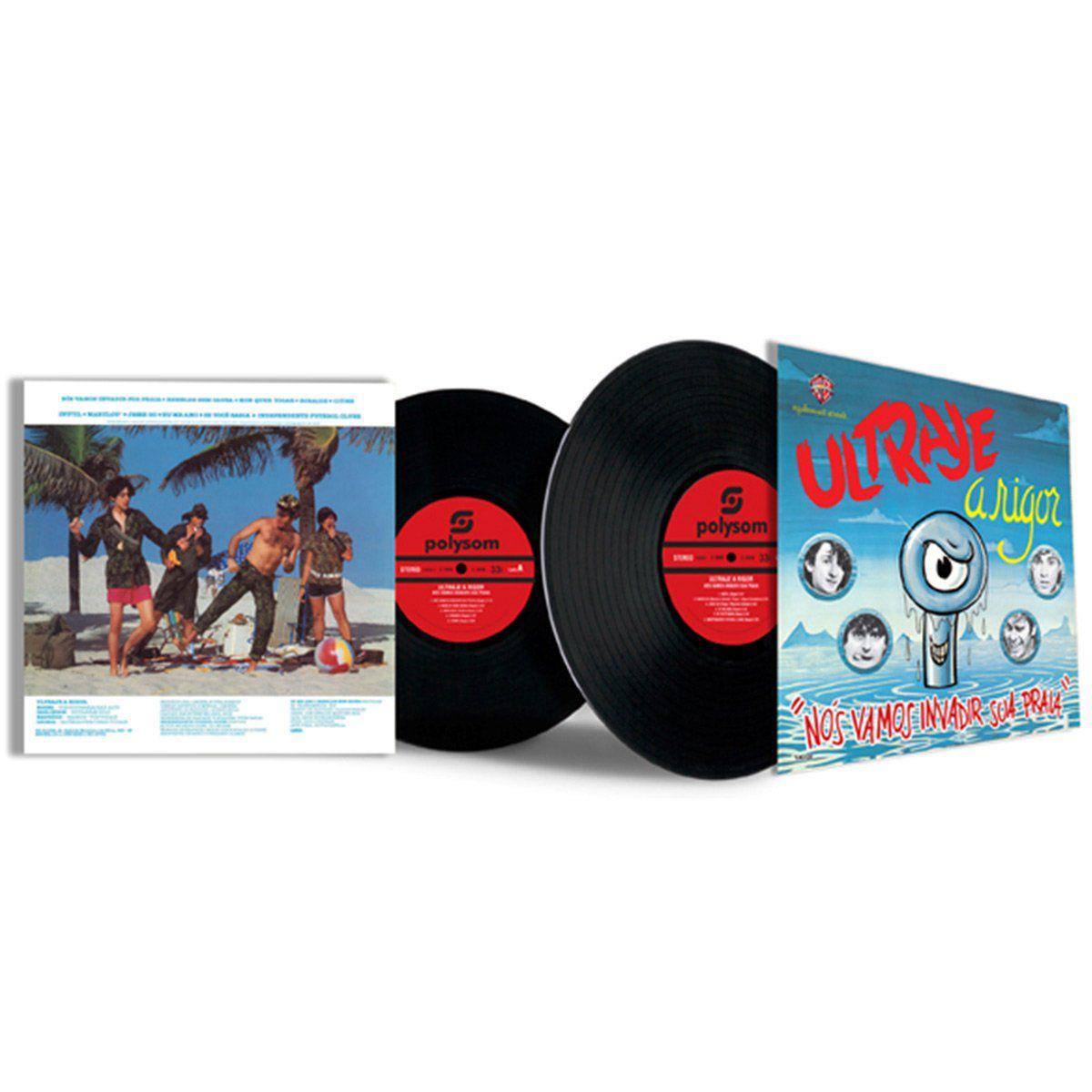 Ultraje A Rigor LP Nos Vamos Invadir Sua Praia  - bandUP Store Marketplace