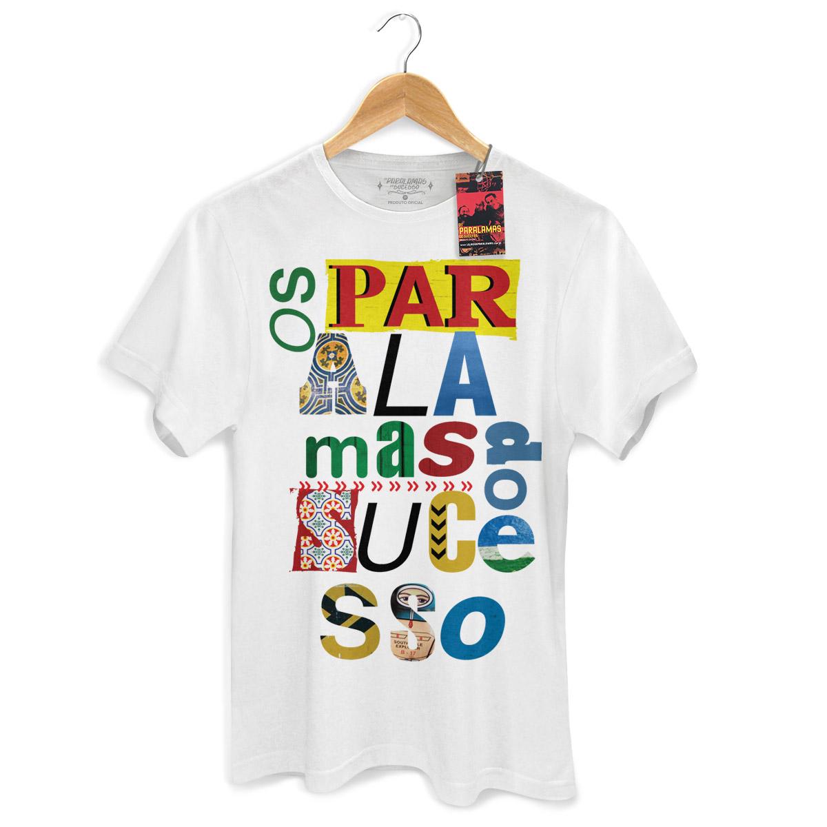 Camiseta Masculina Os Paralamas Do Sucesso Type  - bandUP Store Marketplace