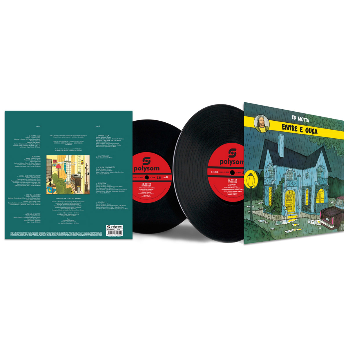 LP Ed Motta Entre e Ouça  - bandUP Store Marketplace