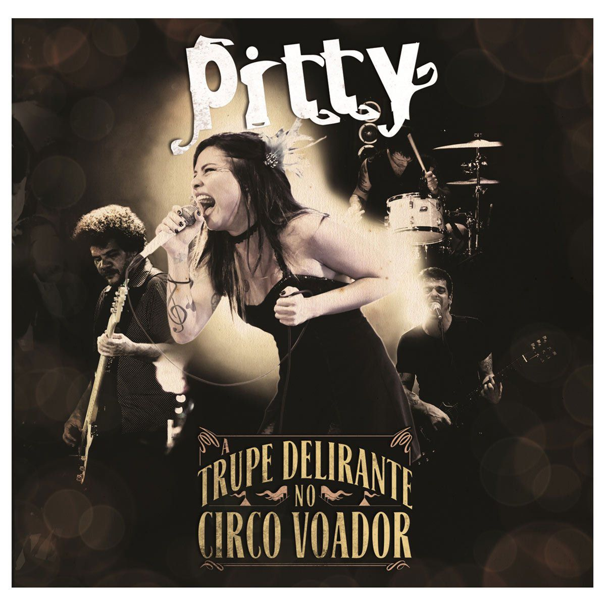 LP Pitty A Trupe Delirante No Circo Voador  - bandUP Store Marketplace