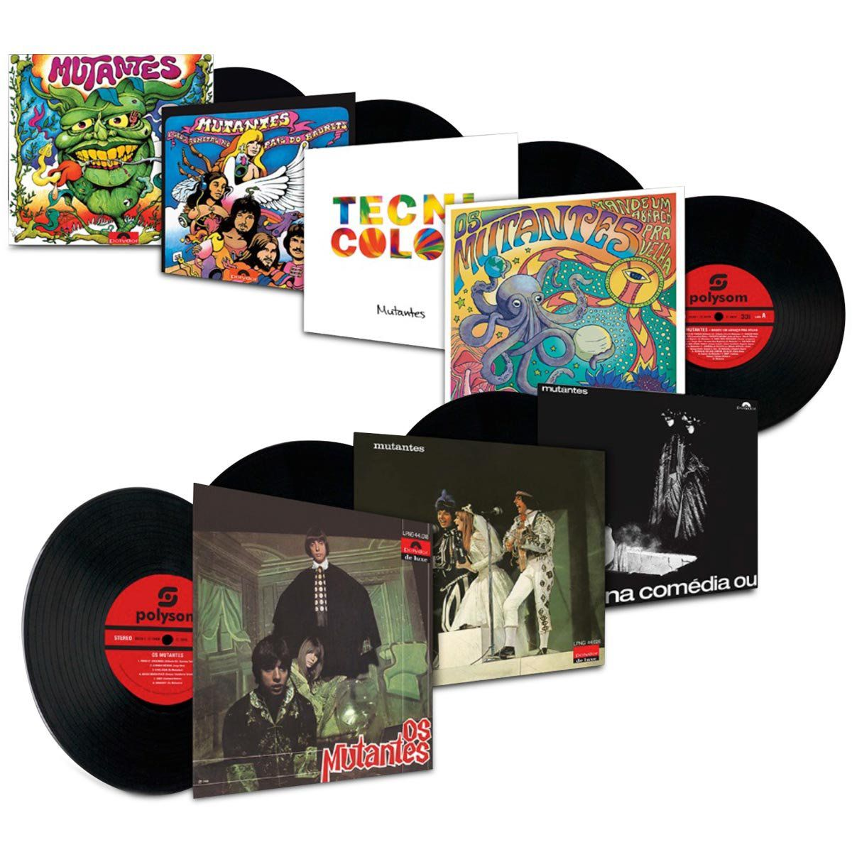 LP Box Os Mutantes  - bandUP Store Marketplace