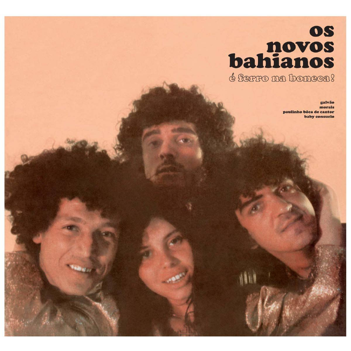 LP Novos Baianos Ferro na Boneca  - bandUP Store Marketplace