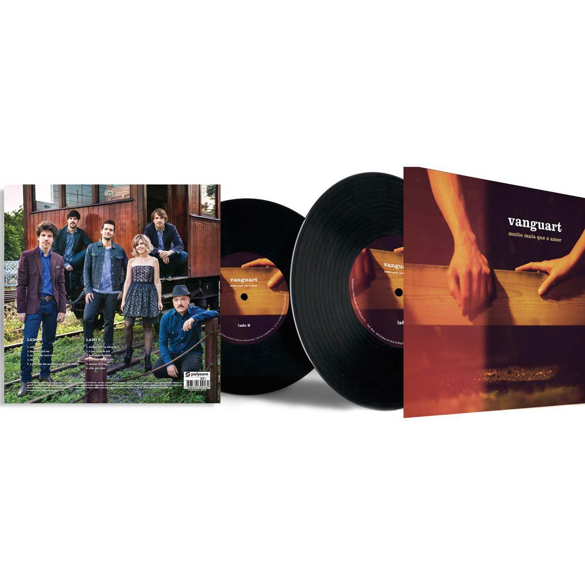 LP Vanguart Muito Mais Que o Amor  - bandUP Store Marketplace