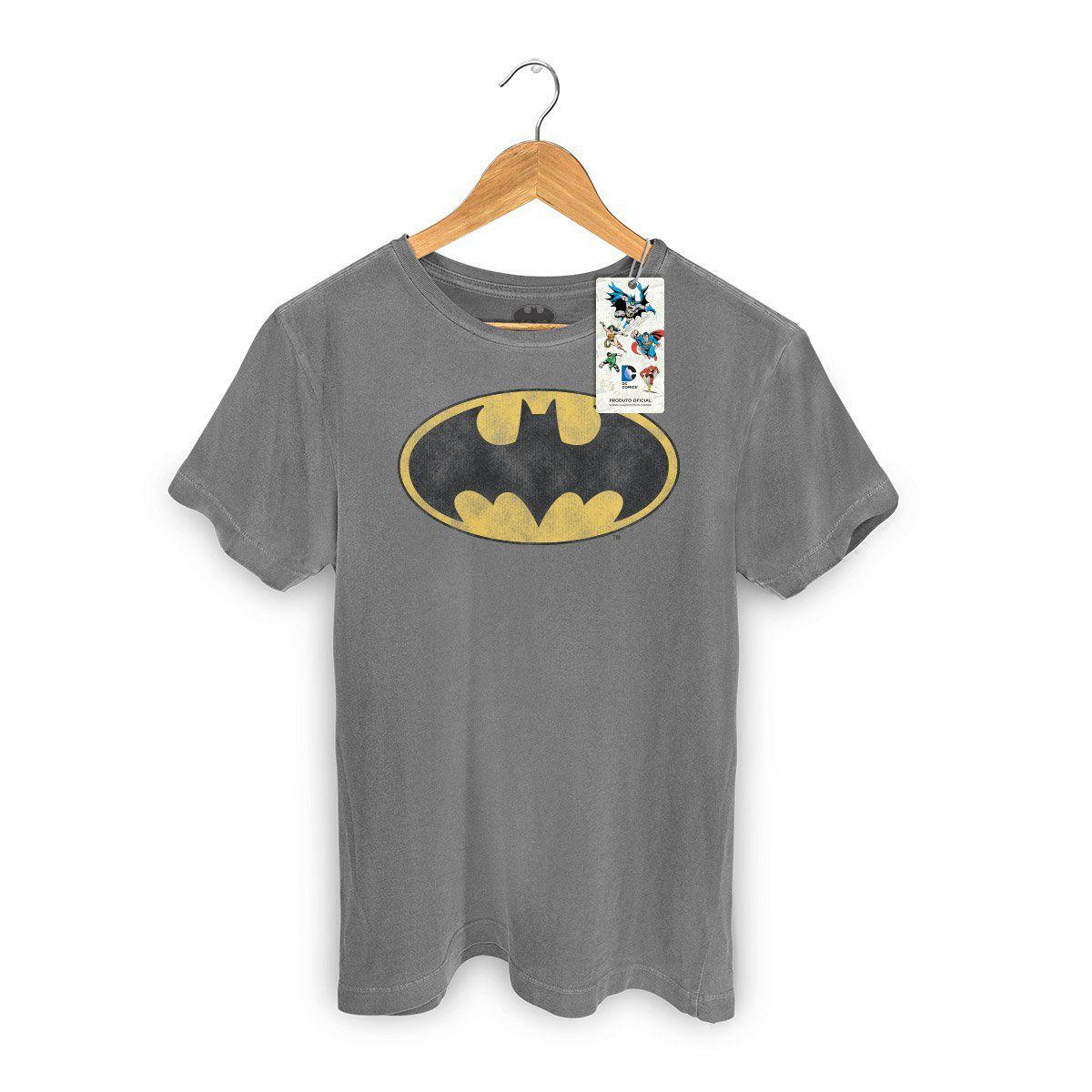 T-shirt Premium Masculina Batman Logo Clássico  - bandUP Store Marketplace