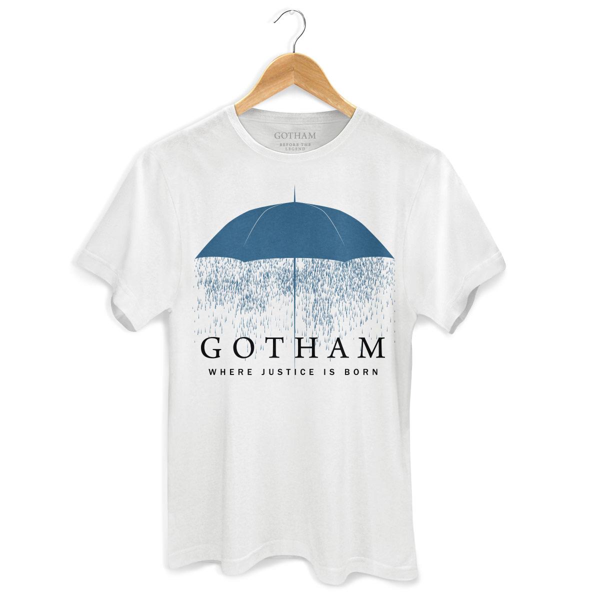 Camiseta Masculina Gotham Umbrella  - bandUP Store Marketplace