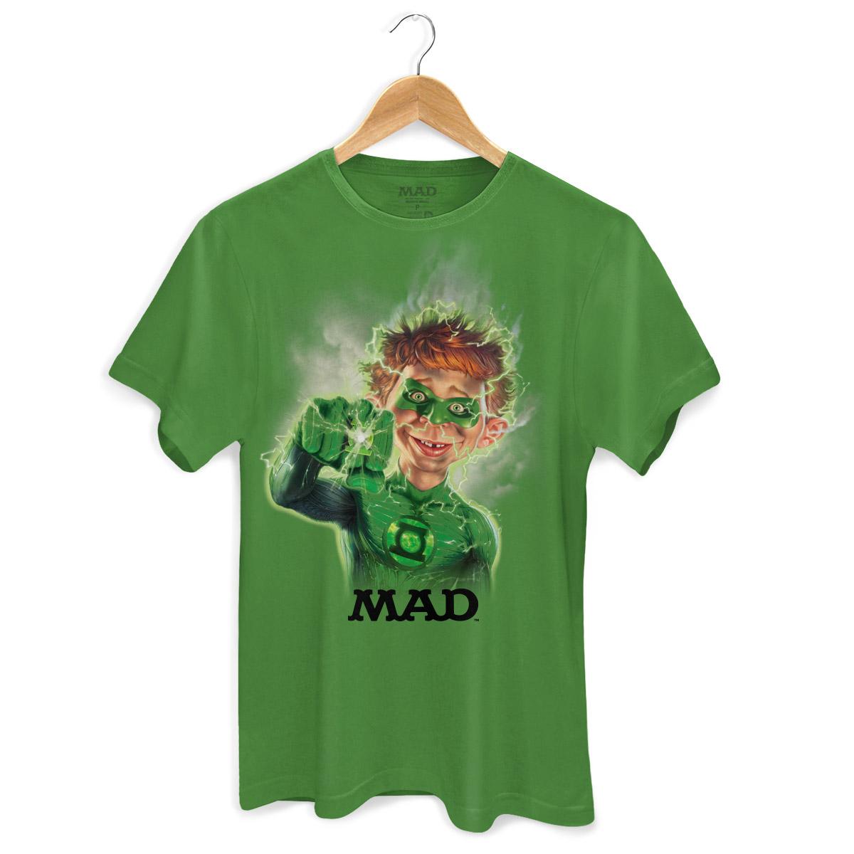 Camiseta Masculina MAD Lanterna Verde  - bandUP Store Marketplace