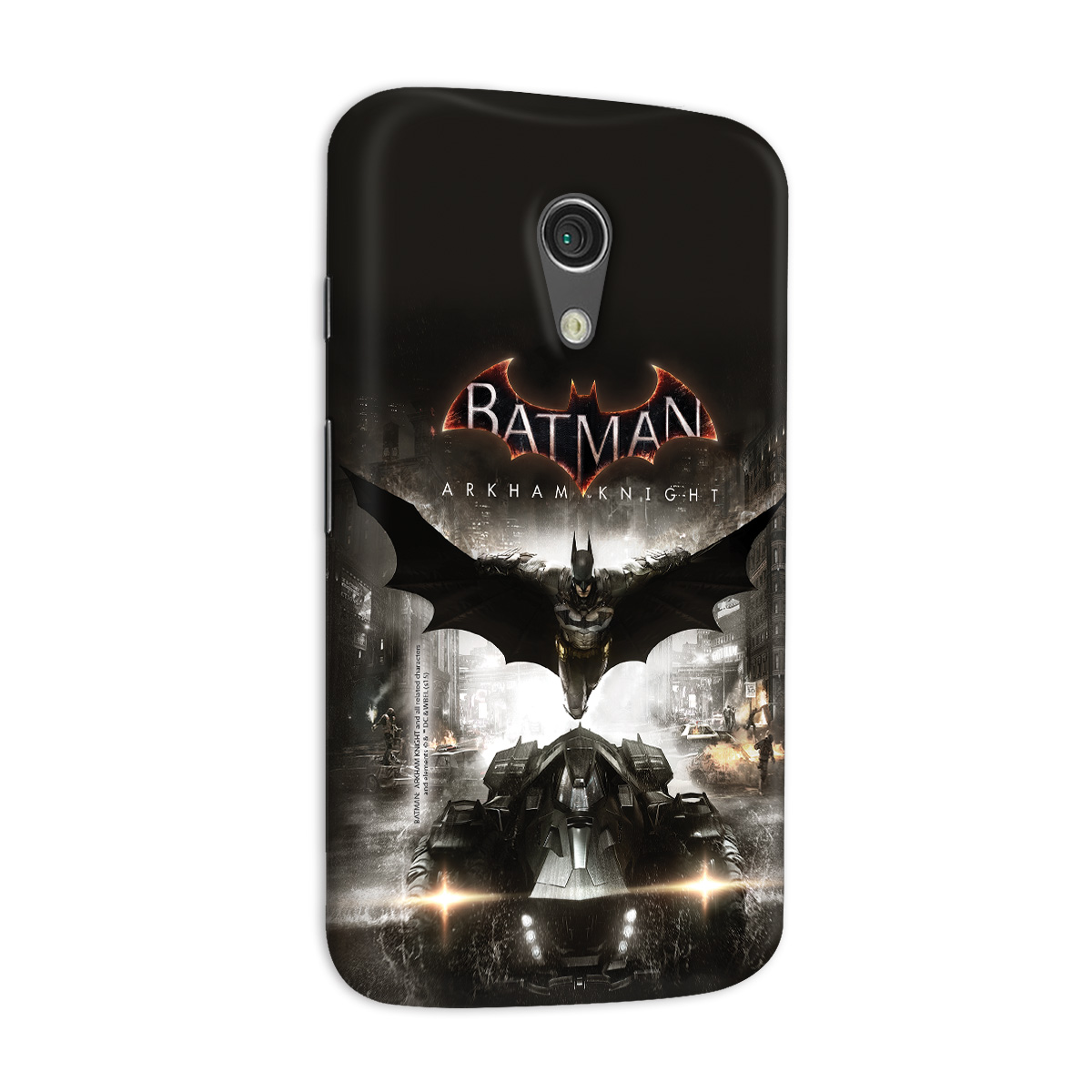 Capa para Motorola Moto G 2 Batman Arkham Knight Action  - bandUP Store Marketplace