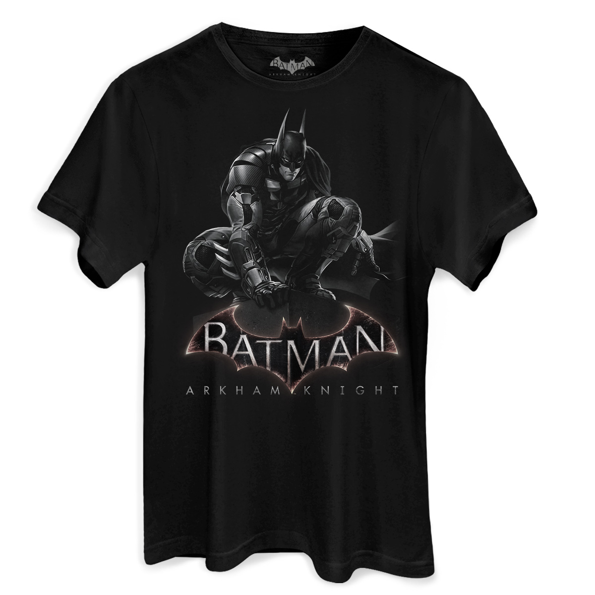 Camiseta Masculina Batman Arkham Knight  - bandUP Store Marketplace