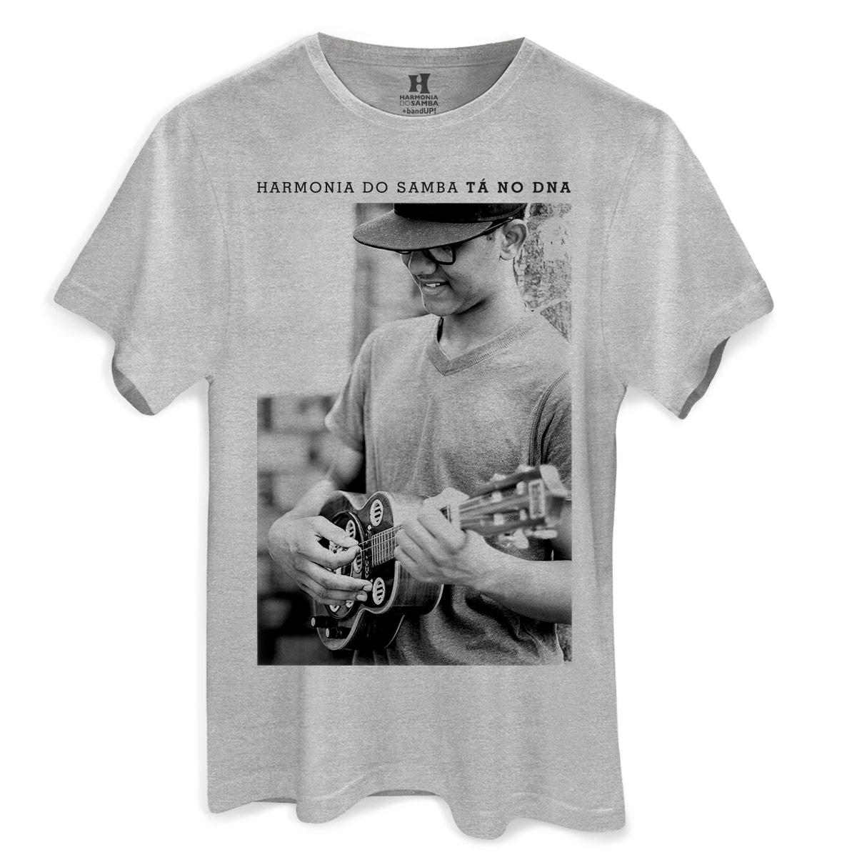 Camiseta Masculina Harmonia do Samba Molejinho  - bandUP Store Marketplace