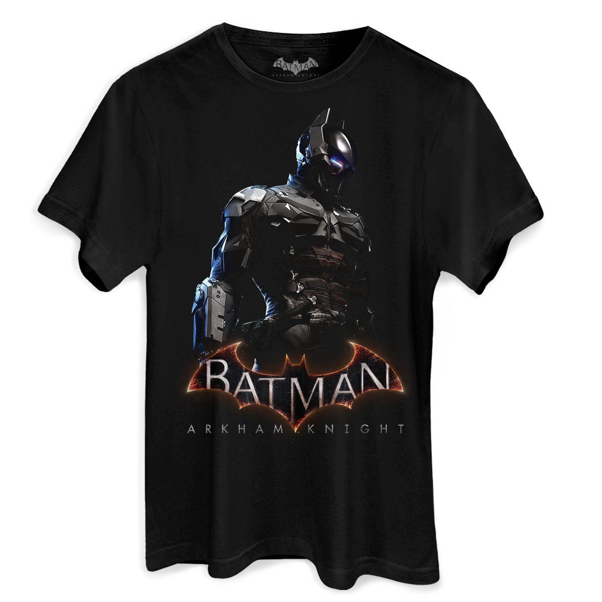 Camiseta Masculina Batman Arkham Knight Steel  - bandUP Store Marketplace