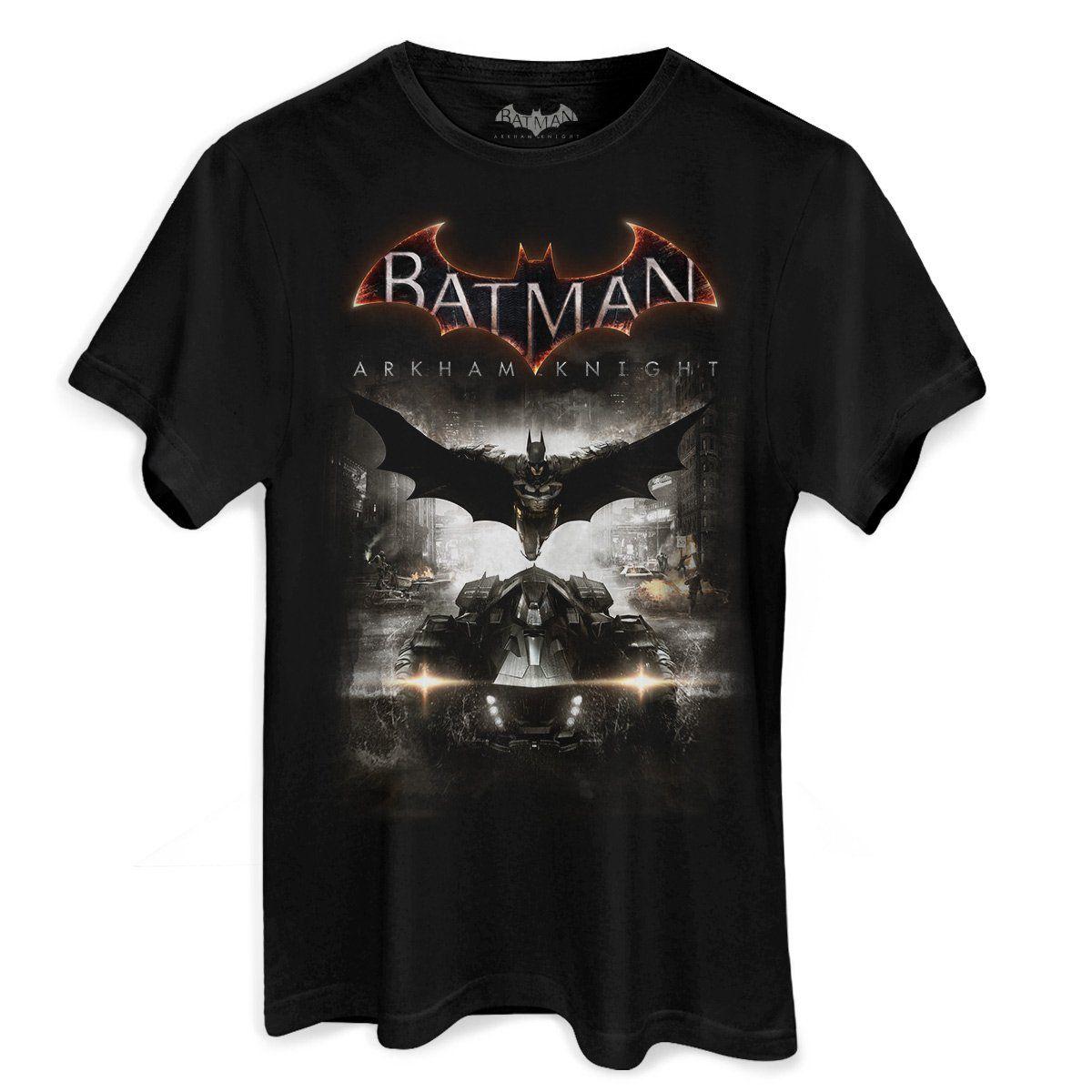 Camiseta Masculina Batman Arkham Knight Action  - bandUP Store Marketplace